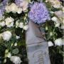 Kranz-Tuff in blau,lila Tone(Hortensie,Eustoma,…)